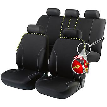 Allessandro car seat cover-Black For Toyota COROLLA LEVIN Coupe 1991-1997