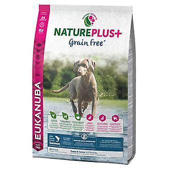 Eukanuba Puppy & Junior NaturePlus + Salmon (Dogs , Dog Food , Dry Food)