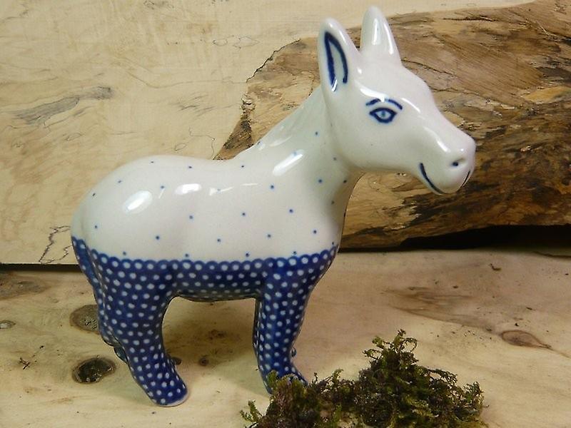 Pony, 13 x 13 x 5 cm, Unikat 18 - polish pottery - BSN 21304