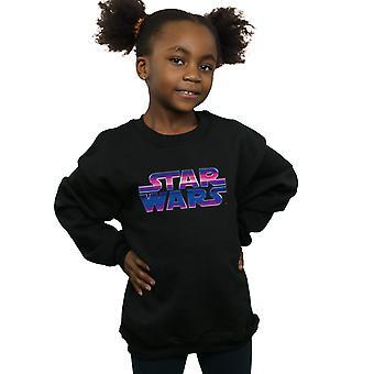 Star Wars Girls Neon Logo Sweatshirt