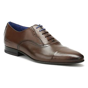 Ted Baker Mens Brown Leather Murain Shoes