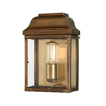 Elstead Beleuchtung Victoria Solid Brass Outdoor-Wand Laterne