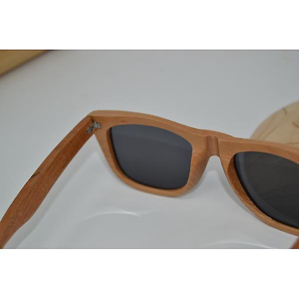 Wood glasses sunglasses polarized UV400 protection Brown Kirsch Holz unique UV protection