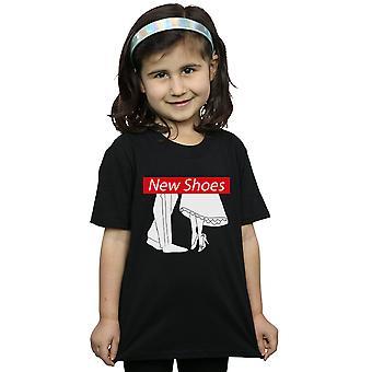 Disney Prinzessin Mädchen Aschenputtel Schuhe neu T-Shirt