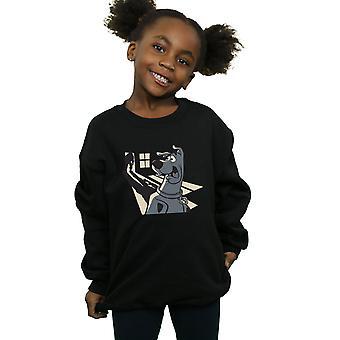 Scooby Doo Girls Shadow Ghost Sweatshirt