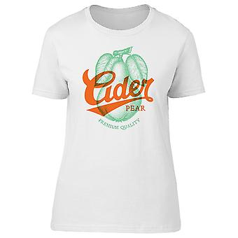 Cider Pear, Premium Quality Tee Women's -Image by Shutterstock
