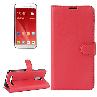 Pocket wallet premium red for ZTE blade A602 protection sleeve case cover pouch new