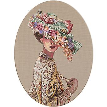 Gold Collection Victorian Elegance Counted Cross Stitch Kit-11