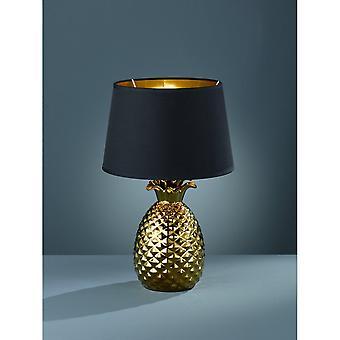 Трио, ананас современной золотой керамическая лампа освещения