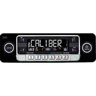 Caliber Audio Technologie RCD-110 Schwarz Autoradio Retro-design