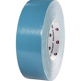 TOOLCRAFT 829B48L50C Cloth tape 829B48L50C Blue-grey (L x W) 50 m x 48 mm 1 Rolls
