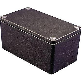 Hammond Electronics 1550Z108BK Universal enclosure 125 x 80 x 58 Aluminium Black 1 pc(s)