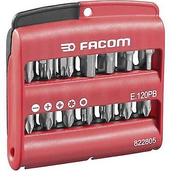 Bit ingesteld 28-delig Facom E.120PB Phillips, Pozidriv, Allen, TORX socket
