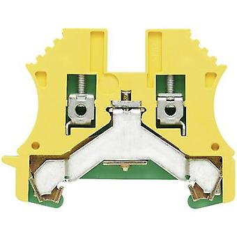 WPE protective conductor terminal blocks WPE 16N 1019100000 Green-yellow