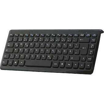 Perixx Periboard-407 USB Tastatur schwarz