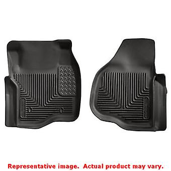 Husky Liners 53301 Black X-act Contour Front Floor Line FITS:FORD 2011 - 2014 F