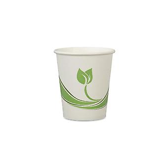 Sustainable Earth by Staples paper cups Bio 25cl (fp about 80th)
