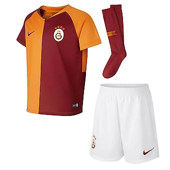 2018-2019 Galatasaray Accueil Nike Little Boys Mini Kit