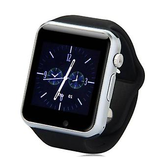 Stuff Certified ® Original A1 / W8 Smartwatch Watch OLED Smartphone Android iOS Black