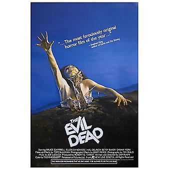 Evil dead poster American