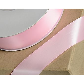 6mm Baby Pink Satin Ribbon for Crafts - 25m   Ribbons & Bows for Crafts