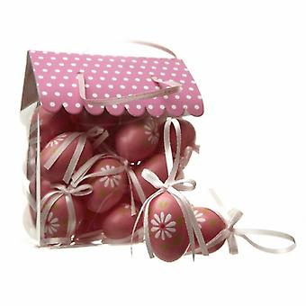 Heaven Sends Pink Easter Egg Twig Tree Decorations