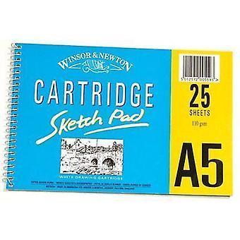 Winsor & Newton cartucho Pad 25 hojas A5 110gsm
