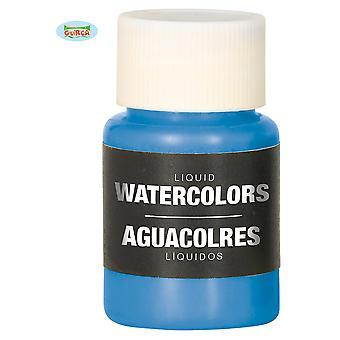 Make up e ciglia liquido acqua trucco blu