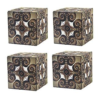 Euclidean Cube 4-Pack-Geometric Transformational Puzzle