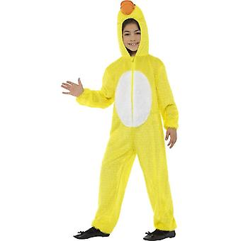 Duck Costume, Yellow, with Hooded Jumpsuit