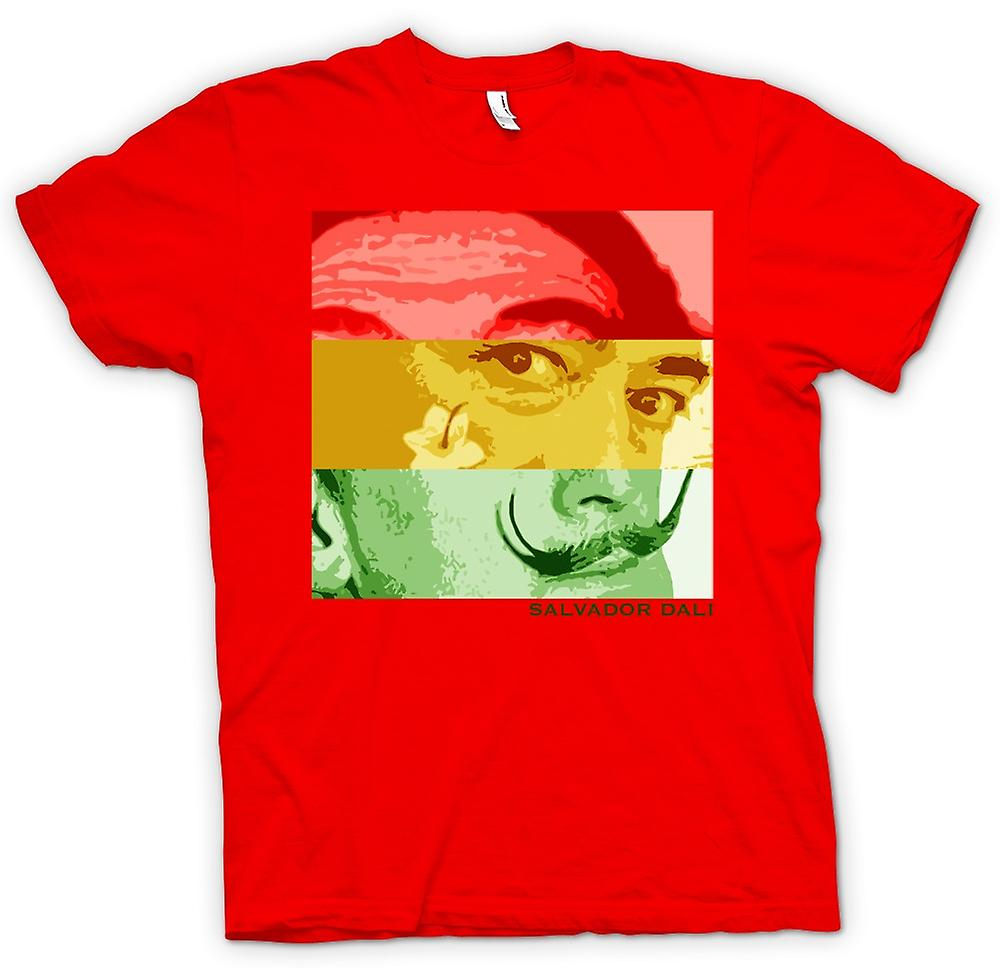 Mens T-shirt-Salvador Dali - Pop-Art - surrealistische Künstler