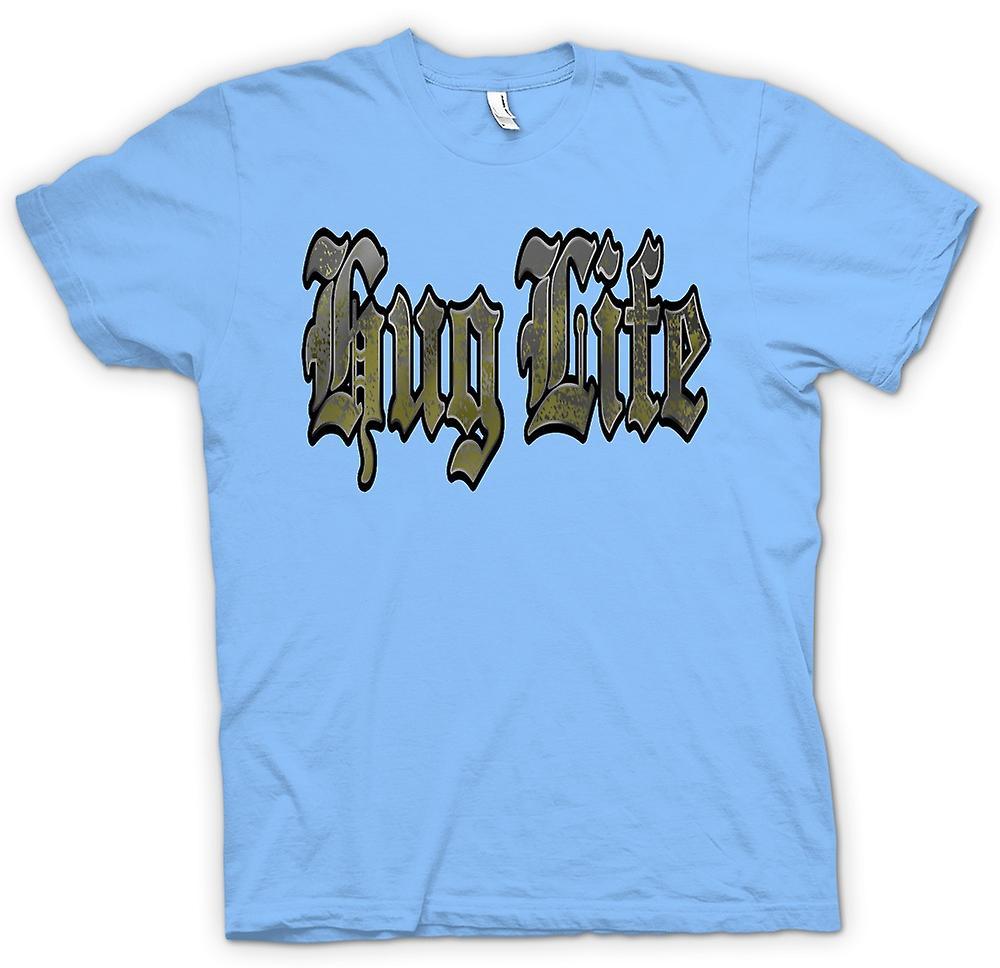 Hommes T-shirt - Câlin vie - Gangster - Drôle