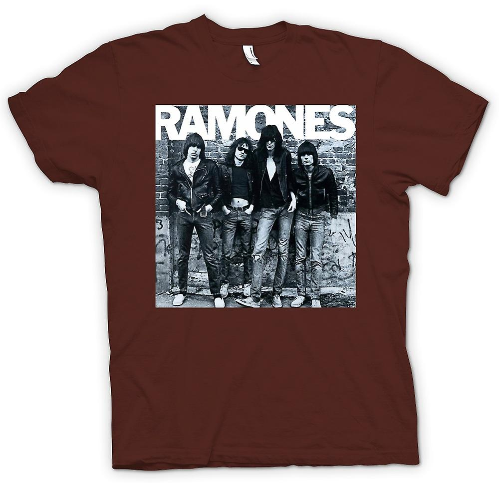 Mens T-Shirt - Ramones - Punk Rock - Arte del álbum