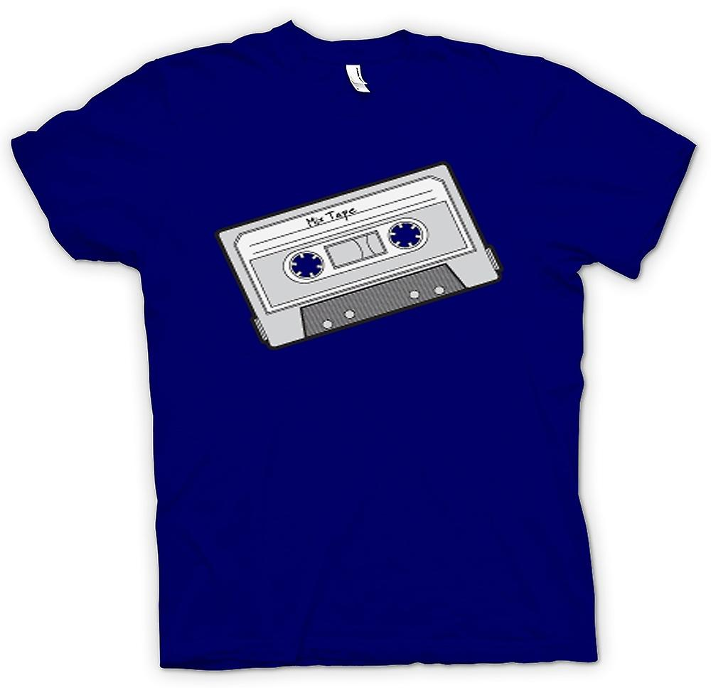 Mens T-shirt - Oldschool Cassette
