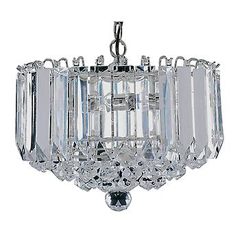 Searchlight 6715CC Sigma 4 Light Ceiling Pendant