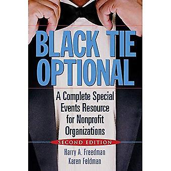 Czarny krawat opcjonalne: Pełne wydarzeń specjalnych zasobów dla organizacji non-profit