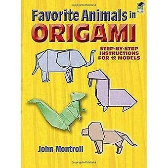 Favorite Animals in Origami