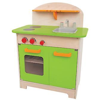 Jeu d'imitation enfant jeux jouets Cuisine gourmet verte pour enfant 0102072