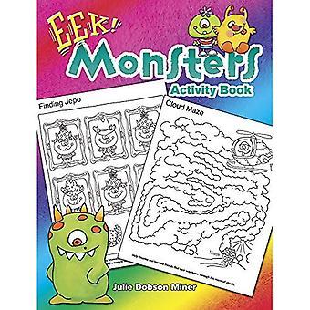EEK! Monster aktivitetsbok