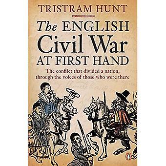 O inglês Civil de guerra em primeira mão