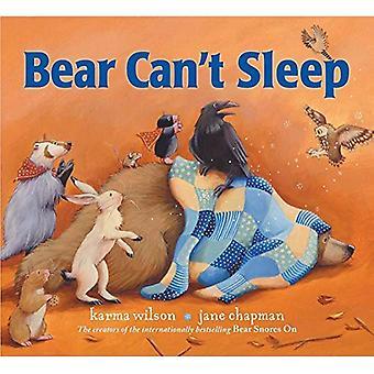 Bear Can't Sleep (The Bear� Books)