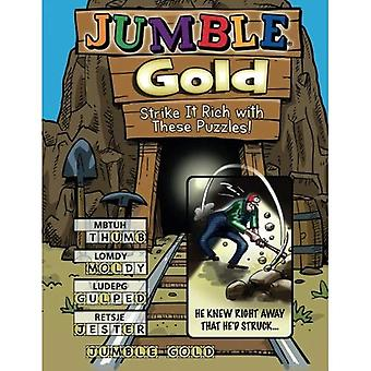 Jumble(r) Gold: Strike It Rich with These Puzzles! (Jumbles#174;)