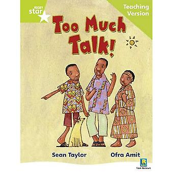 Too Much Talk: Phonic Guided Reading Green level (Rigby Star)