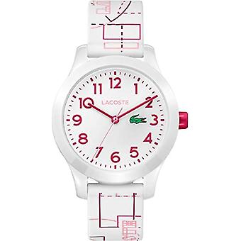 Lacoste Quartz Analog Unisex Kids Silicone wrist watch 2030009