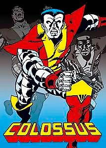 Colossus fridge magnet  (Marvel comics) (sd)