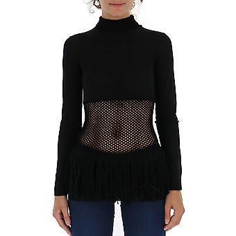 Loewe Black Wool Sweater