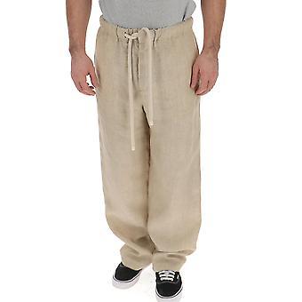 Loewe Beige Linen Pants