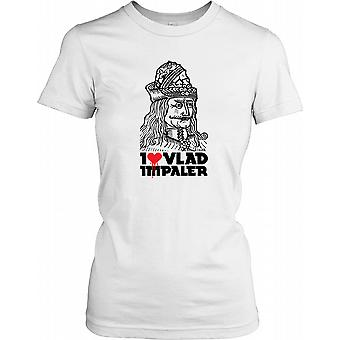 Je aime Vlad The Impaler - Dracula thème Ladies T-shirt