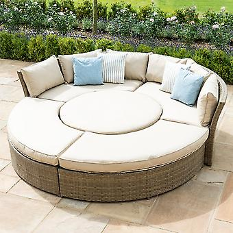 Maze Rattan Tuscany Lifestyle Suite with Adjustable Table