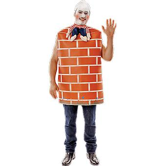 Orion Costumes Mens Humpty Dumpty Brick Wall Novelty Fancy Dress Costume